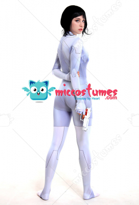 Ghost in the shell Movie Mira Killian Major Motoko Kusanagi 3D Printed Cyborg Cosplay Costume Bodysuit Jumpsuit