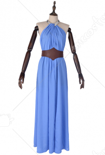Game of thrones GOT Missandei Cosplay Dress Costume