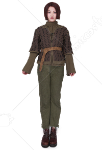 [Free US Economy Shipping] Exclusive Game of Thrones Arya Stark Handmade Cosplay Costume