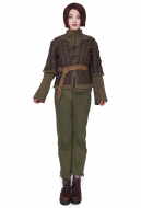 Exclusive Game of Thrones Arya Stark Handmade Cosplay Costume