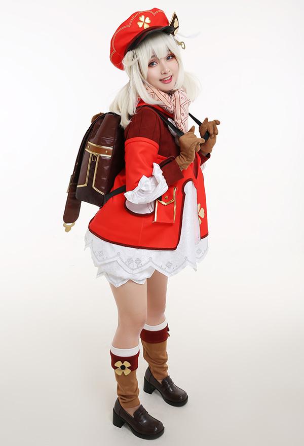 Genshin Impact Klee Knights von Favonius Spark Knight Cosplay Kostüm