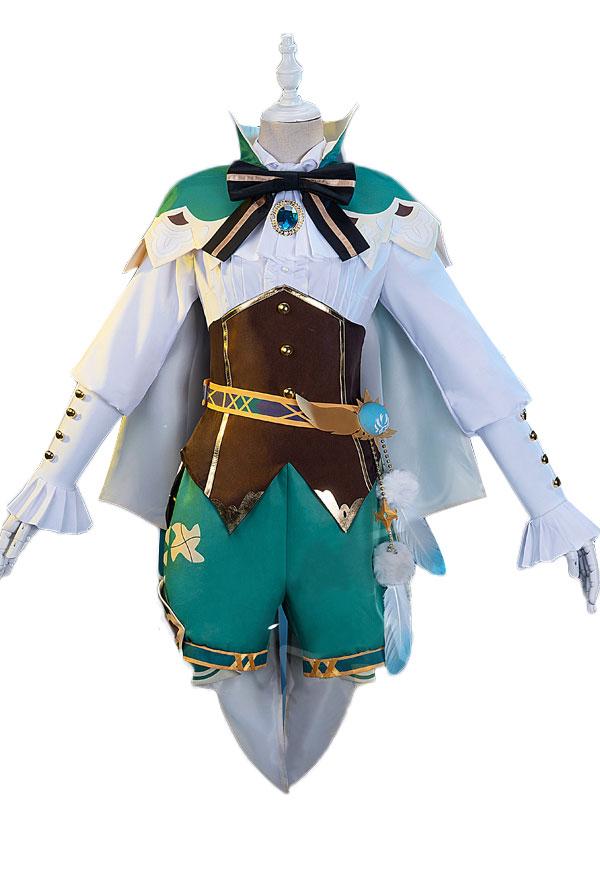 Genshin Impact Bards Venti Weibliches Cosplay Kostüm Ohne Der Himmel
