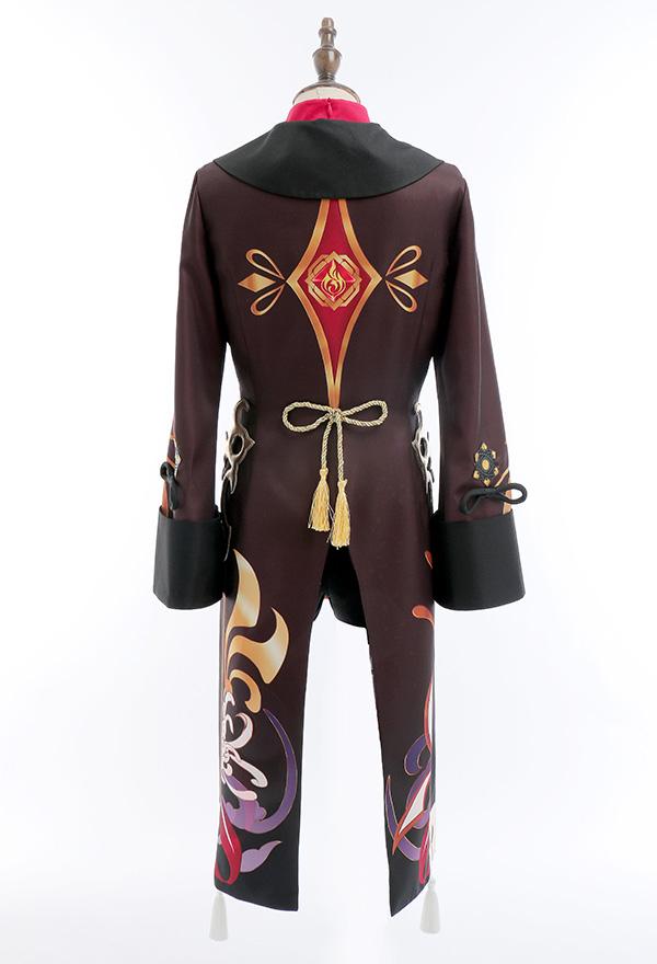 Genshin Impact Hu Tao Cosplay Kostüm Chinesisches Stil Outfit