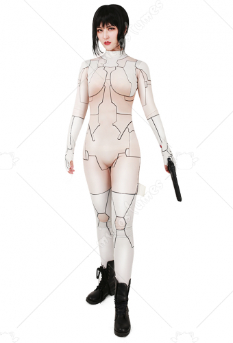 Movie Ghost in the Shell Motoko Kusanagi Cosplay Cosutme