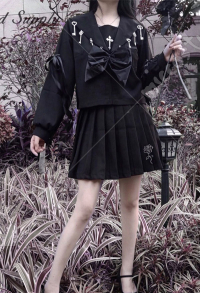 Dark Gothic Informal Improved JK Uniform Set