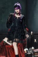 Dark Lilith Black Gothic Lolita Dress Cosplay Costume