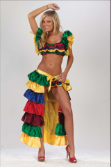 Cha Cha Girl Adult Costume