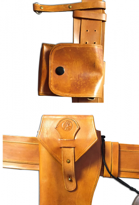 Deluxe Handmade Cosplay Holster and Belts Set Inspired by Hellboy Anung Un Rama Custom Made