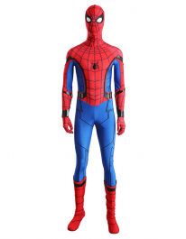 Super Hero Spiderman Fullset Cosplay Costume Including Boots Inspired by Spider-Man: Homecoming Order to Made