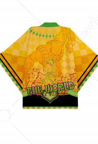 JoJos Bizarre Adventure Dio Brando The World Cosplay Kimono Jacket Costume Japanese Clothing Outfit
