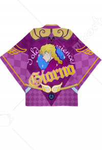 JoJos Bizarre Adventure Giorno Giovanna Golden Wind Cosplay Kimono Jacket Costume Japanese Clothing Outfit