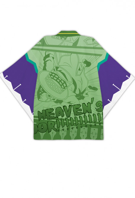 JoJos Bizarre Adventure Rohan Kishibe Heavens Door Cosplay Kimono Jacket Costume Japanese Clothing Outfit
