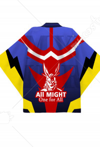 Boku no Hero Academia Hero All Might Toshinori Yagi Cosplay Kimono Jacket Costume Japanese Clothing Outfit