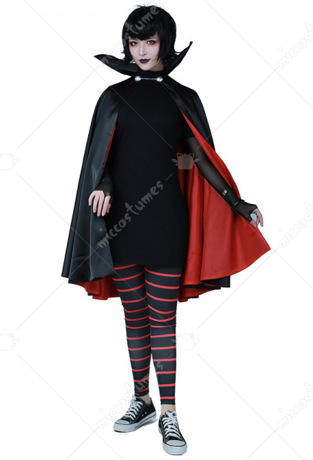 Hotel Transylvania Mavis Dracula Cosplay Costume with Cloak for Halloween