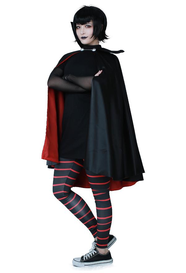 Hotel Transsilvanien Mavis Dracula Cosplay Kostüm mit Umhang