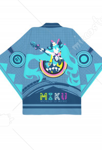 Vocaloid Hatsune Miku Magical Mirai 2019 Cosplay Kimono Jacket Costume Japanese Clothing Outfit