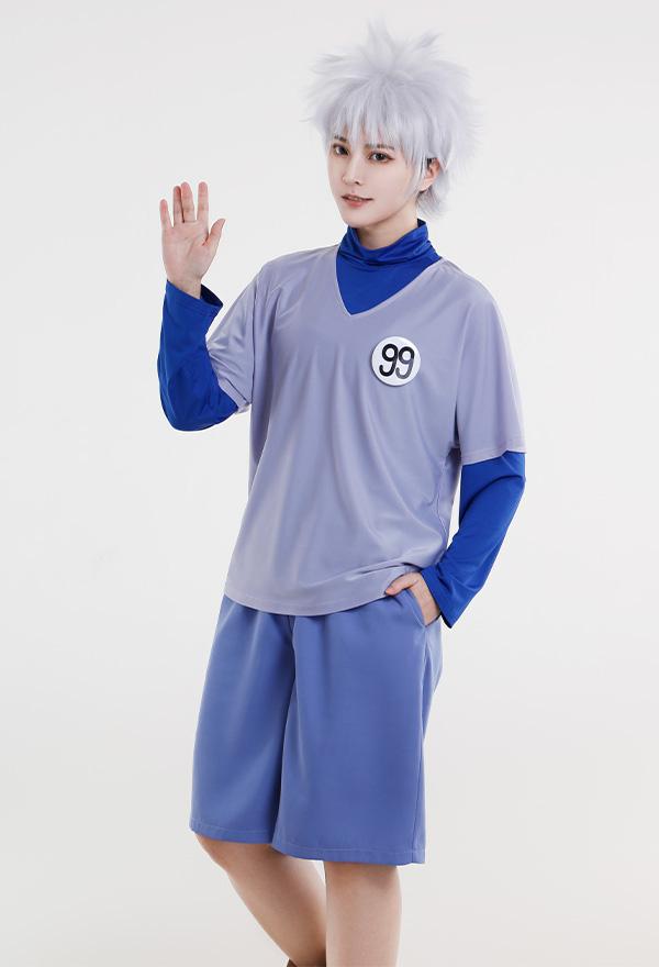 Hunter × Hunter Killua Zoldyck Kirua Tägliches Cosplay Kostüm