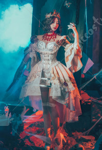 Identity V Mary Bloody Queen Bloodbath Skin Cosplay Kostüm Kleid