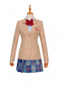 A Certain Magical Index Mikoto Misaka School Uniform Cosplay Costume Full Set Outfit