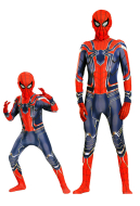 Spiderman Cosplay Kids and Adults Costume Jumpsuit Inspired by Spiderman: Homecoming and Avengers: Infinity War Make to Order