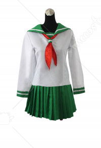 [Free US Economy Shipping] Inu Yasha Kagome Higurashi School Uniform Sailor Dress Cosplay Costume