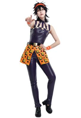 JoJo 黃金之風 Narancia納蘭迦·吉爾卡cosplay角色扮演服裝包含頭帶