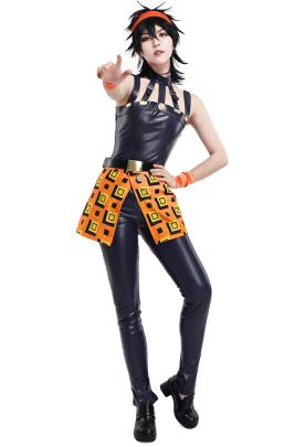 JoJos Bizzare Adventure Narancia Ghirga Cosplay Costume with Bandana