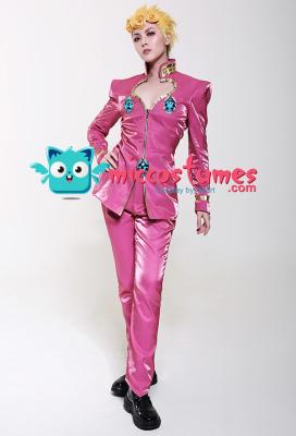 JoJos Bizarre Adventure Giorno Giovanna Golden Wind Cosplay Costume