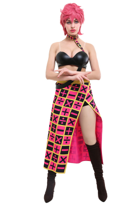 JoJos Bizarre Adventure Golden Wind Trish Una Cosplay Costume