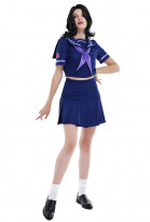 Jojos Bizarre Adventure Diamond is Unbreakable Yamagishi Yukako Cosplay Costume Sailor Uniform