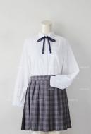 Japanese Uniform Women Girl JK Student Long Sleeve School Cosplay Costume