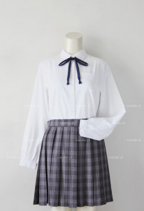 Japanese Uniform Women Girl JK Student Long Sleeve School Cosplay Costume