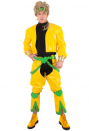 JoJo's Bizarre Adventure Season 3 Dio Brando Yellow Jacket Cosplay Costumes