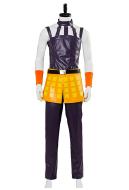 JoJos Bizzare Adventure Golden Wind Narancia Ghirga Cosplay Costume