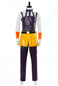 JoJos Bizzare Adventure Golden Wind Narancia Ghirga Cosplay Costume