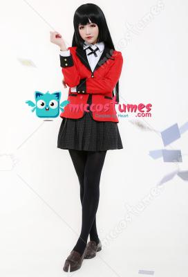 Kakegurui–Compulsive Gambler Cosplay Costume Jabami Yumeko School Uniform