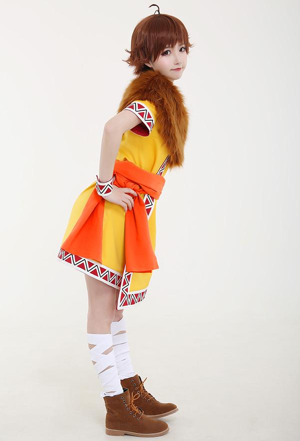 Anime Kingdom Ka Ryo Ten Cosplay Kostüm mit Schal