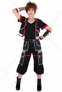 Kingdom Hearts 3 III KH3 Sora Cosplay Costume