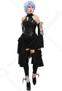 Kingdom Hearts 3 Aqua Cosplay Kostüm