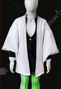 Demon Slayer Kimetsu no Yaiba Mitsuri Kanroji Kinder Cosplay Kostüm
