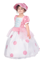 Kids Toy Story Little Bo Peep Cosplay Dress Costume