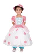 Kids Toy Story Little Bo Peep Cosplay Dress Costume