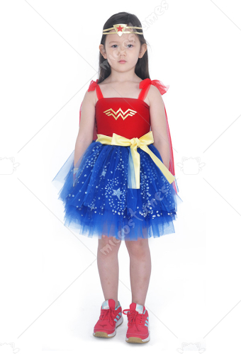 Child Girls Halloween Cosplay Costume Inspired by Princess Diana Make to Order