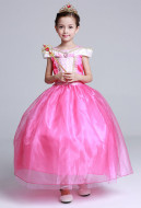 [Free US Economy Shipping] Sleeping Beauty Cosplay Princess Aurora Cosplay Kid Princess Dress