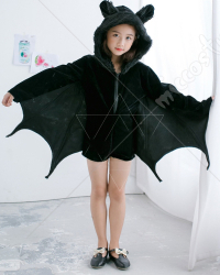 [Free US Economy Shipping] Halloween Cosplay Bat Cosplay Kid Performance Jumpsuit