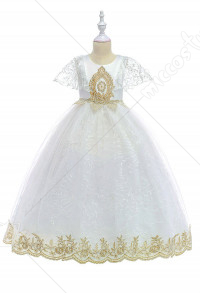[Free US Economy Shipping] Halloween Cosplay Eif Cosplay Kid Princess Tutu Dress