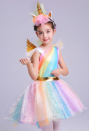 My Little Pony Cosplay Unicorn Dress Kid Tutu Dress