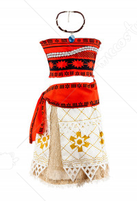 Halloween Cosplay Moana Cosplay Kid Performance Suit