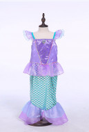 [Free US Economy Shipping] Halloween Costume Mermaid Cosplay Mermaid Dress Kid Performance Dress