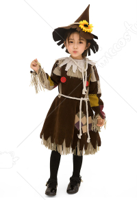 Halloween Cosplay Witch Cosplay Kid Performance Dress